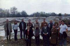 Učesnici projekta na terenu nasutom piritnom jalovinom